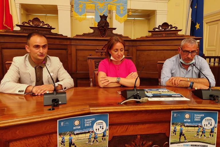 Presentazione del progetto Inter Summer Camp. <span>Foto Antonio D'Oria</span>