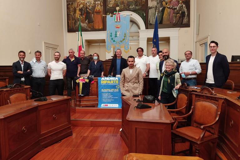 """""""Andria riparte"""" da sport e solidarietà: il 30 giugno quadrangolare allo stadio """"Degli Ulivi"""""""