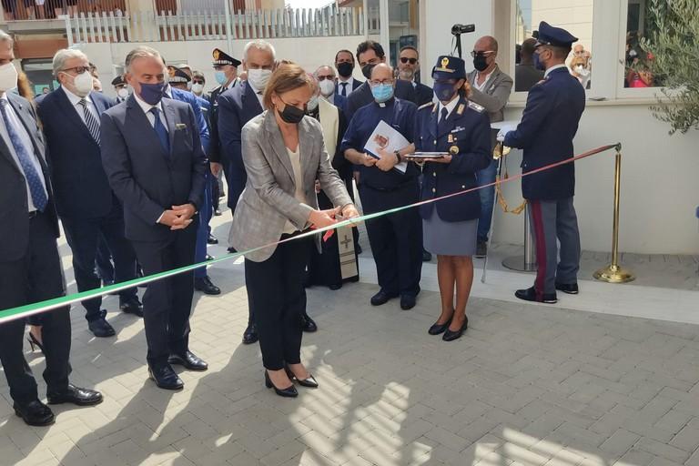 Inaugurata ufficialmente la nuova Questura della provincia Bat. <span>Foto Antonio D'Oria</span>