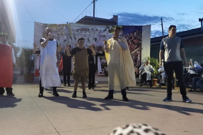 la Divina Commedia del centro Zenith