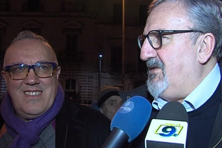 Sabino Zinni e Michele Emiliano ad Andria